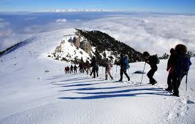 Καλάβρυτα Ορειβατικό σκι στο Χιονοδρομικό κέντρο Καλαβρύτων